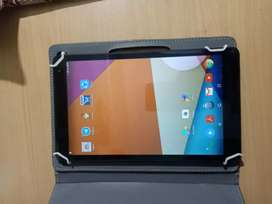 new 10 inch alcatel tablet with pouch