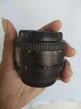 Lensa nikon 50mm 1.8 afd