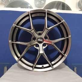 Velg Mobil Mewah Terbaru HSR WURZBURG F1 Ring 19 Baut 5 xpander Inova