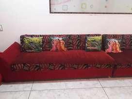 sofa 2 set of 3 seater