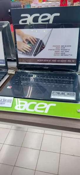 laptop acer amd a6 dicicil hanya di giant