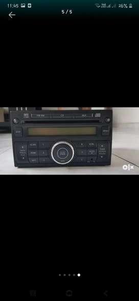 Nissan audio...FM AM MP3 AUX