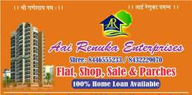 1BHK 490 sq.ft 100% loan available in nalsooara east