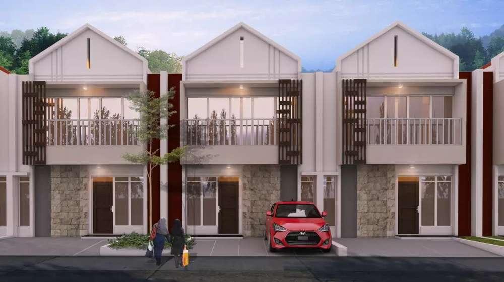 rumah dua keren dua lantai
