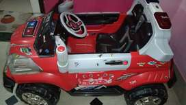 Electric charging car