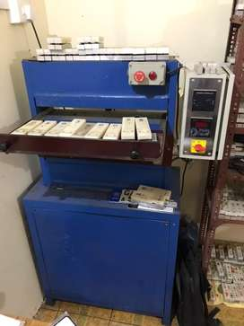 Number plate embossing machine / High security plate making machine
