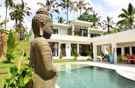 Villa Mewah Full View Alam Yang Tenang dan Asri Lokasi Tegalalang Ubud