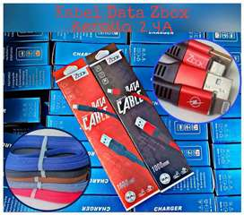 Kabel Charger iphone Pinzy Metal 2.4A