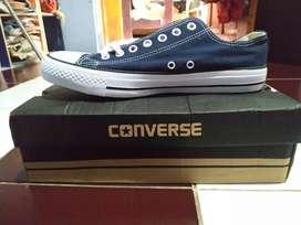 Converse Basic Low Navy Size 42 Premium