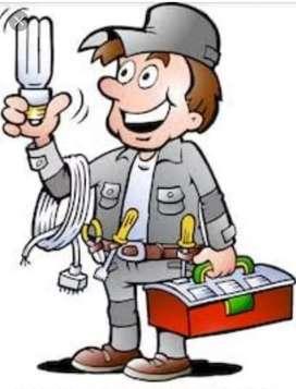 Chahiye Electrician Cum Plumber & Carpenter
