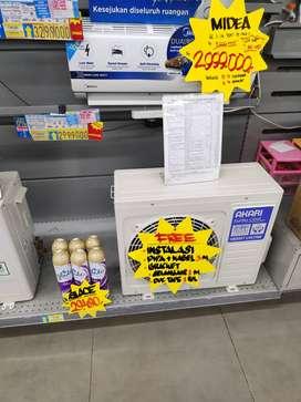 Ac Midea 1/2 PK bisa cicilan murah tanpa kartu kredit