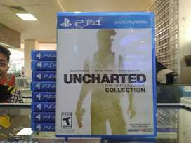 KASET PS 4 UNCHARTED COLLECTION