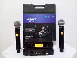 TERBAIK Mic Wireless Betavo BT-700 Model GLXD 24 Digital Plus KOPER