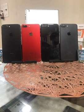 I phone 7 plus 128 gb matt black, jett black