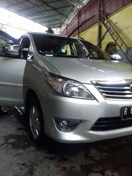 Innova type G thn 2013, bensin, manual.