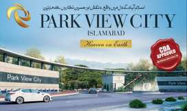1 Kanal Plot file for sale in Park View City Islamabad.