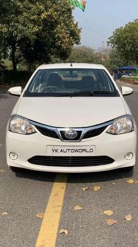 Toyota Etios 1.5 V, 2016, Petrol