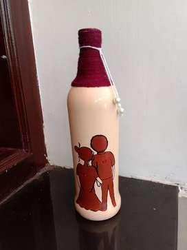 Bottle painting