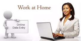 Simple Data Entry /Offline work from home / Form Filling /Typing Jobs