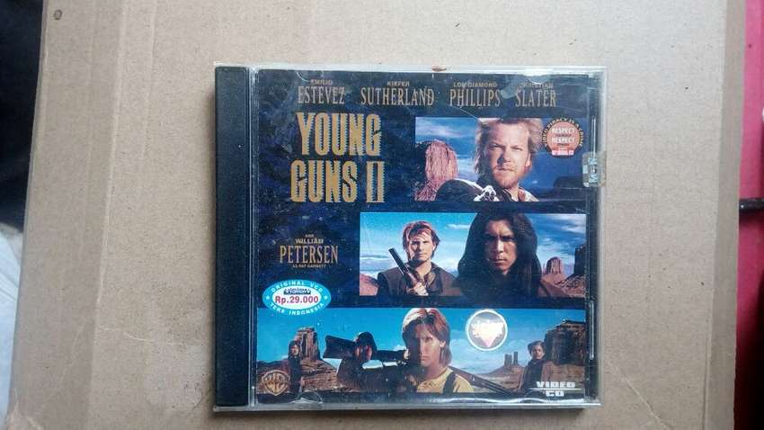Kaset Film Original VCD/CD Young Guns 2 0