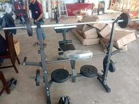 Bench Press Power high squat