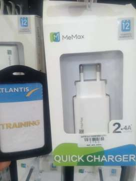 ADAPTER QUICK CHARGER MEMAX LC-P101