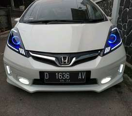 Modif Lampu mobil  Projector Xpander Jazz Brio Hrv Agya Fortuner Bmw
