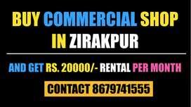 Buy Commercial Property In Zirakpur Get Rental Income