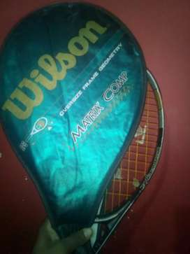 Used but in new condition salazanger company tennis racket.
