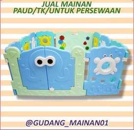 Mainan Indoor Playground Pagar-pagaran Dengan Tema Menarik Berkualitas