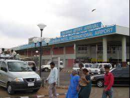 Airport staff as in the post of air ticketing / ground staff/ cabin cr