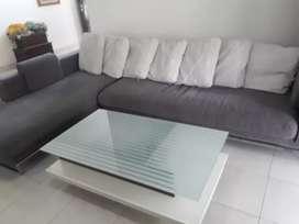 Sofa dan meja cellini