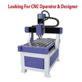 Designer and Operator of CNC Engraving Machine