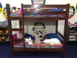 Kids Bunker Bed With Mattress