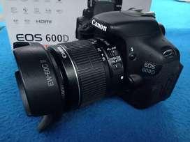 Canon 600D Fullset Box sc 3 rban