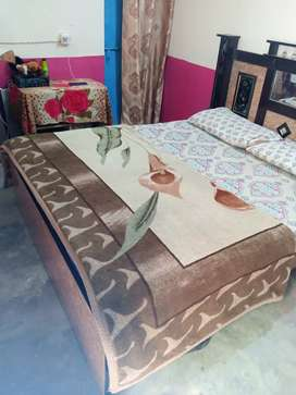 Bed for sell with matters
