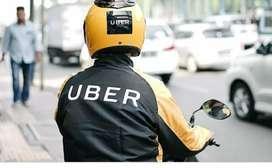 Hiring bike riders for uber