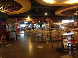 SHOPS ON FOOD COURT IN A MALL