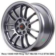type velg REVO 1403D HSR R15X7 H8X100-114,3 ET35 SMG