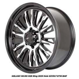 velg mobil fortuner everest ranger hilux prado ring 20 modif murah