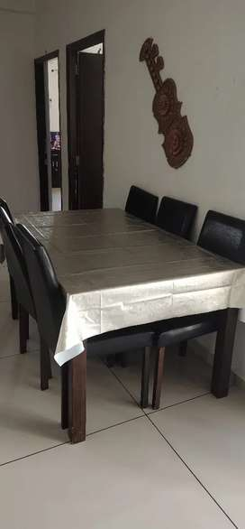 Dining table with 6 chair