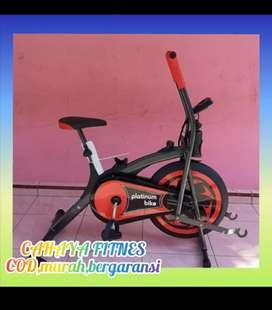 Alat fitnes sepeda statis platinum bike murah promo
