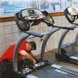 Treadmill services center