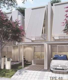 Rumah 2 Lantai Free Furnished + Canopy BSD