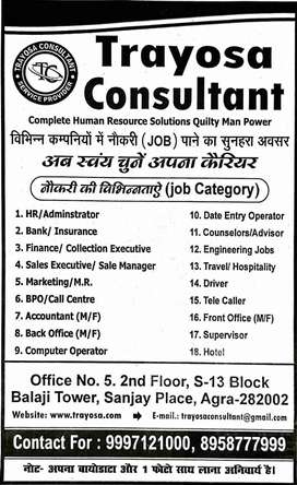 candidate have good Communication Skill and good personality