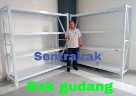 Rak gudang gondola supermarket bahan bangunan pabrik