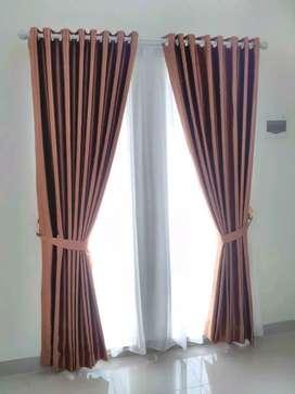 Gorden rumah kordyn jendela minimalis modern_535