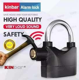 Gembok Alarm kinbar anti maling