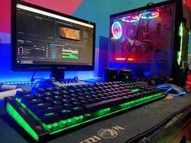 pc gaming & editing high murah
