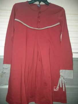 Tunik merah merk rabbani